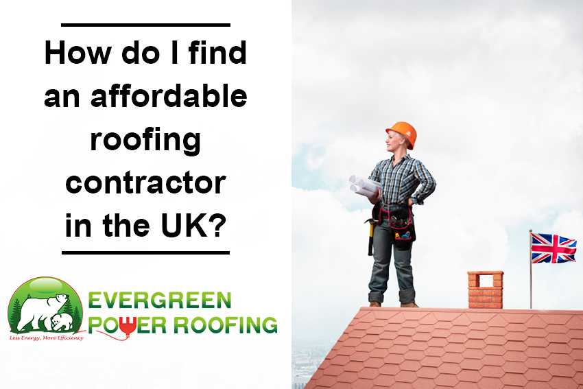 How do find roofing contractor UK